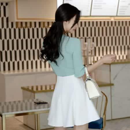 Chân váy ngắn dáng xòe - F1007CVN - Ảnh 4