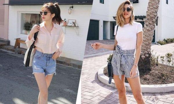 12 kiểu quần short xuống phố cuối tuần đầy tự tin
