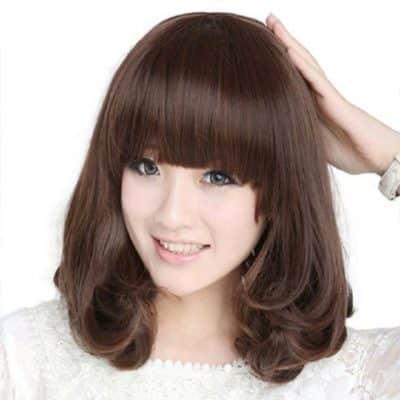 Mẫu tóc xoăn ngắn - Ảnh 23