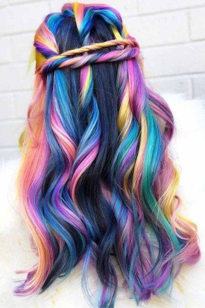 Màu tóc highlight đẹp tự nhiên