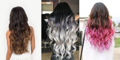 Nhuộm kiểu tóc ombre