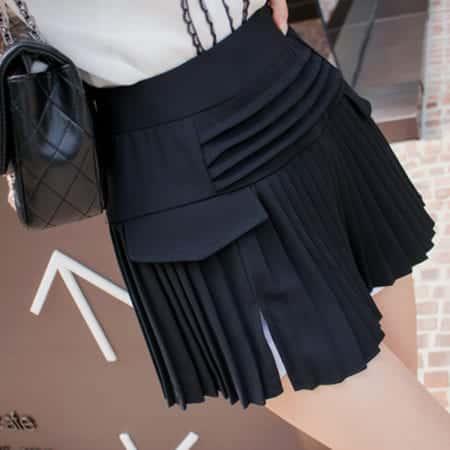 Váy quần công sở thiết kế xếp li - F1000QV - Ảnh 3