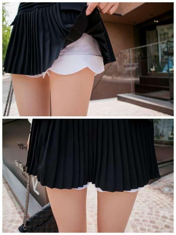Váy quần công sở thiết kế xếp li - F1000QV - Ảnh 5