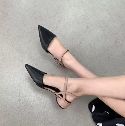 11 Kiểu giày đế thấp dành riêng cho chị em văn phòng - Ảnh 10