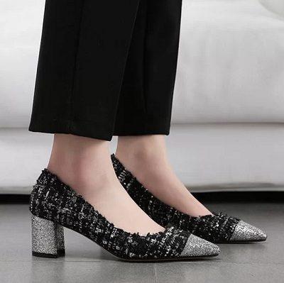11 Kiểu giày đế thấp dành riêng cho chị em văn phòng - Ảnh 11