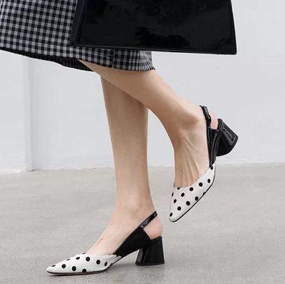 11 Kiểu giày đế thấp dành riêng cho chị em văn phòng - Ảnh 4