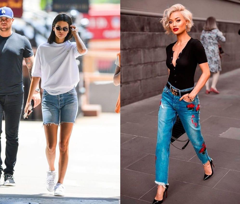 9 Mẹo tân trang bộ đôi áo phông quần jeans quen thuộc