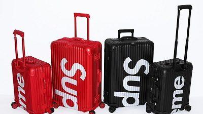 Vali du lịch Supreme thường sử dụng chất liệu nhựa PC cùng với khung nhôm và sơn trơn một màu nhìn cực kì đẹp và chắc chắn