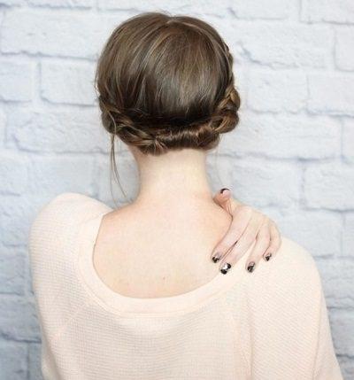 Mẹo tết tóc ngắn dễ thương đẹp nhất năm 2020 - Kiểu 21