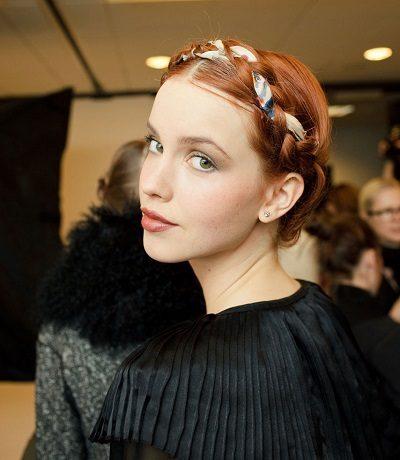 Mẹo tết tóc ngắn dễ thương đẹp nhất năm 2020 - Kiểu 26
