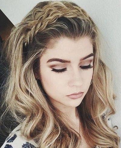 Mẹo tết tóc ngắn dễ thương đẹp nhất năm 2020 - Kiểu 30