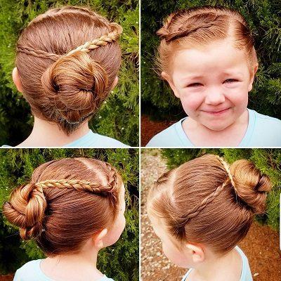 Mẹo tết tóc ngắn dễ thương đẹp nhất năm 2020 - Kiểu 35