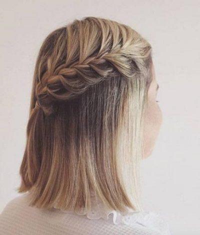 Mẹo tết tóc ngắn dễ thương đẹp nhất năm 2020 - Kiểu 39