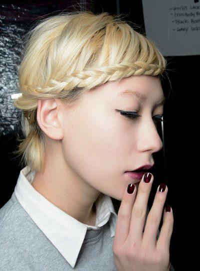 Mẹo tết tóc ngắn dễ thương đẹp nhất năm 2020 - Kiểu 41