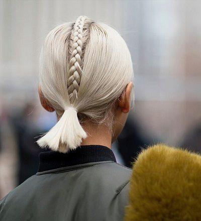 Mẹo tết tóc ngắn dễ thương đẹp nhất năm 2020 - Kiểu 43