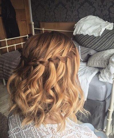 Mẹo tết tóc ngắn dễ thương đẹp nhất năm 2020 - Kiểu 7