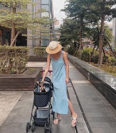 Thời trang xanh da trời nhạt - Ảnh 3