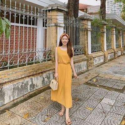 Thời trang màu vàng mù tạt - Ảnh 1