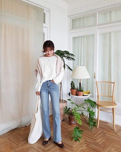 Mặc jeans tôn dáng mang lại sự thoải mái