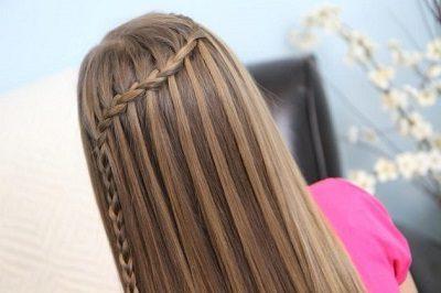 Tự tết tóc thác nước - Ảnh 10
