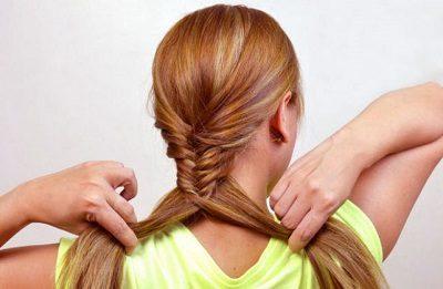 Cách tự tết tóc xương cá - Ảnh 3