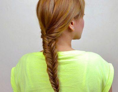 Cách tự tết tóc xương cá - Ảnh 4