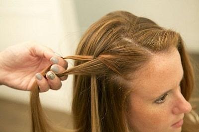 Tự tết tóc thác nước - Ảnh 3
