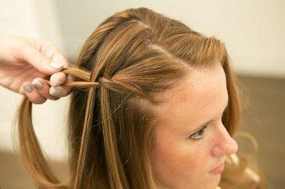 Tự tết tóc thác nước - Ảnh 5