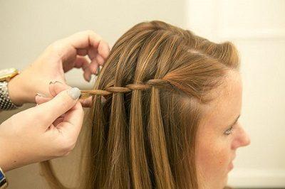 Tự tết tóc thác nước - Ảnh 6