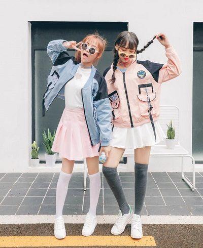 Phối chân váy tennis với áo khoác - Ảnh 3