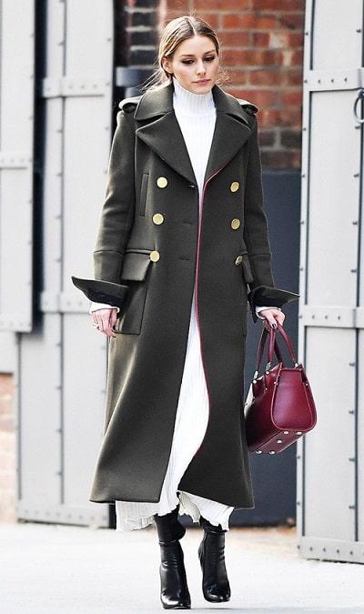 Mọi cô gái đều phát cuồng vì gu thời trang của Olivia Palermo