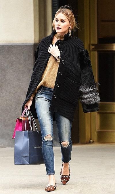 Olivia Palermo chứng minh quần skinny vẫn còn chỗ đứng