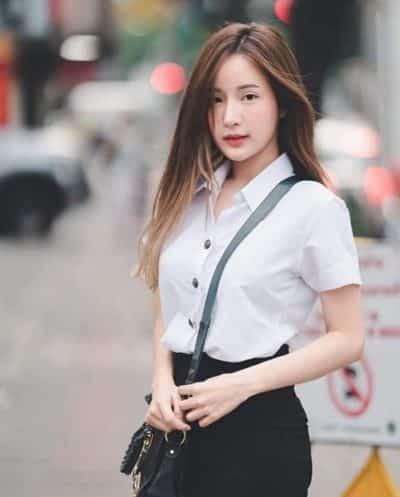 Đồng phục nữ sinh Thái Lan: Áo sơ mi váy ngắn siêu xinh - Ảnh 10