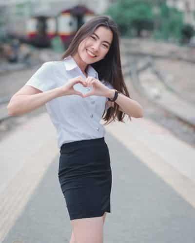 Đồng phục nữ sinh Thái Lan: Áo sơ mi váy ngắn siêu xinh - Ảnh 12