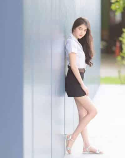 Đồng phục nữ sinh Thái Lan: Áo sơ mi váy ngắn siêu xinh - Ảnh 15