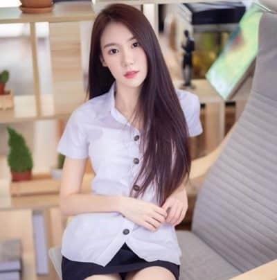 Đồng phục nữ sinh Thái Lan: Áo sơ mi váy ngắn siêu xinh - Ảnh 4