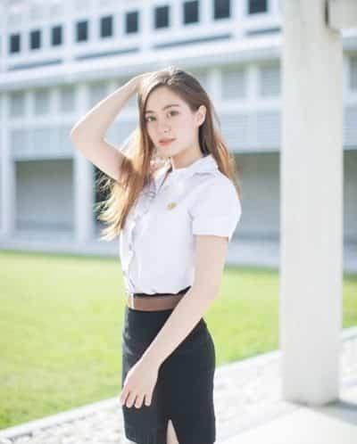 Đồng phục nữ sinh Thái Lan: Áo sơ mi váy ngắn siêu xinh - Ảnh 7