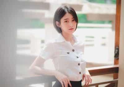 Đồng phục nữ sinh Thái Lan: Áo sơ mi váy ngắn siêu xinh - Ảnh 8