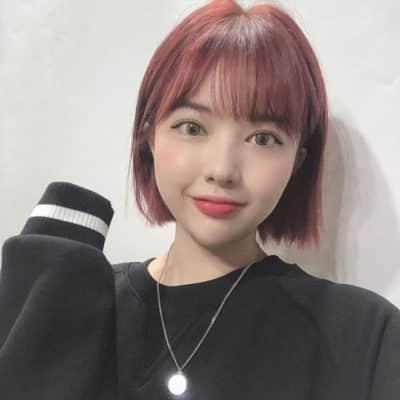 Màu tóc nhuộm đỏ cherry đẹp nhất ở tuổi thanh xuân