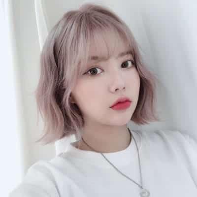 Màu tóc nhuộm hồng đẹp nhất ở tuổi thanh xuân