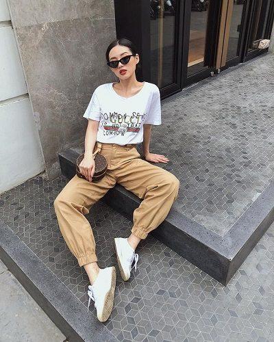 Phong cách Streetwear: Quần ống bo