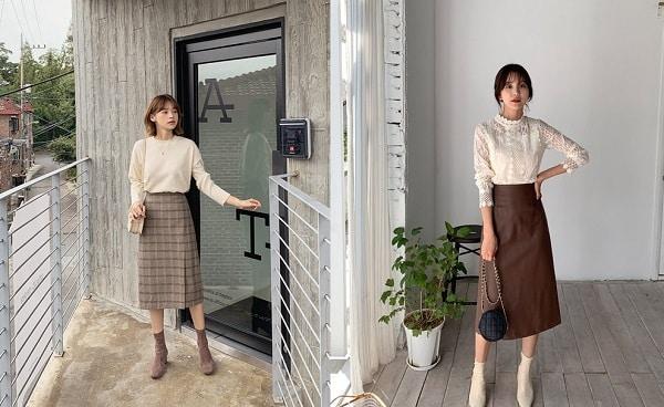 4 Mẫu chân váy dài duyên dáng cho nữ công sở