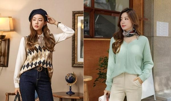 5 Kiểu mix áo len thời thượng nổi nhất 2020 cho nữ công sở