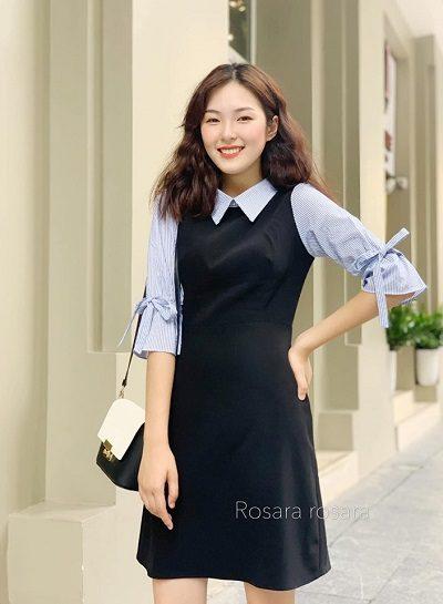 Mẫu váy nhẹ nhàng thanh lịch - Shop thời trang thanh lịch nữ tính ở Hà Nội