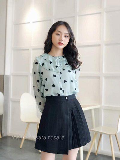Chất liệu vải thì miễn bàn, bởi chúng được lựa chọn kĩ lưỡng, màu sắc sang trọng - Shop thời trang thanh lịch nữ tính ở Hà Nội