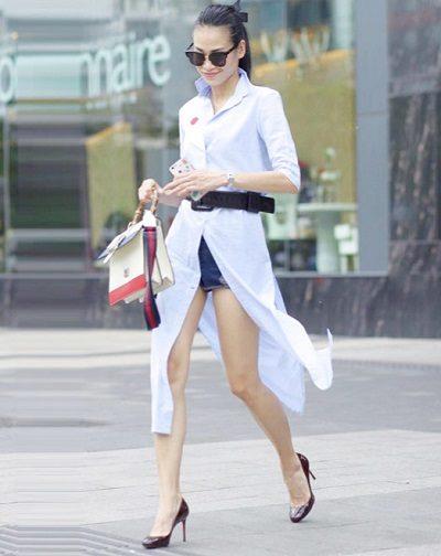 Thắt lưng bản to tạo ra điểm nhấn cho bộ trang phục - 10 Xu hướng thời trang nữ 2020 nổi như cồn