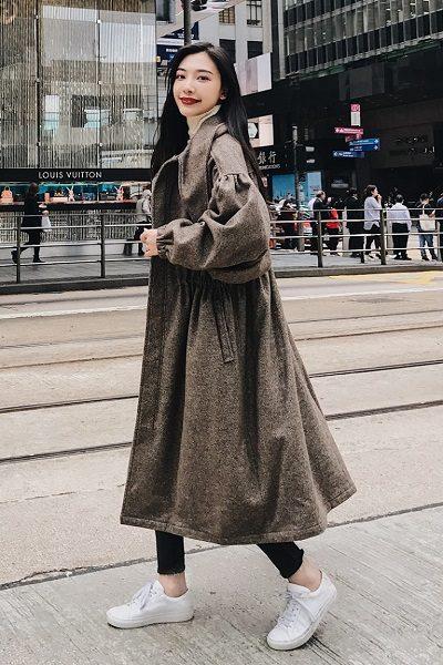 Áo khoác lông cừu vẫn đang hot chưa có dấu hiệu hạ nhiệt - 10 Xu hướng thời trang nữ 2020 nổi như cồn