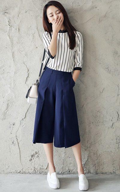 Đa số quần ống rộng có thiết kế đơn giản, có hình dáng giống như một chiếc váy, tạo sự thoải mái cho người mặc - 10 Xu hướng thời trang nữ 2020 nổi như cồn