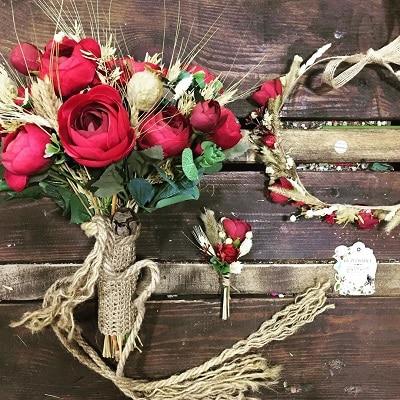 Mẫu hoa cưới cầm tay cô dâu đẹp - Ảnh 2