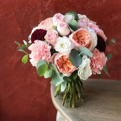 Mẫu hoa cưới cầm tay cô dâu đẹp - Ảnh 4